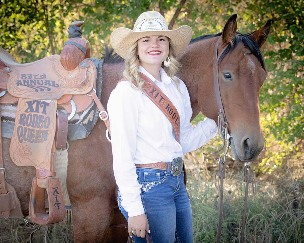 XIT Rodeo Queen | Kaylee Mitchell